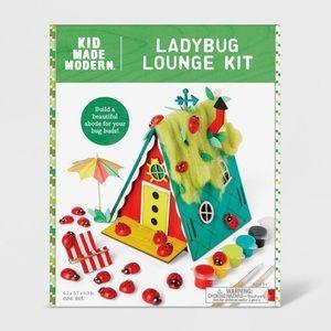 Ladybug Lounge Kit - Kid Made Modern craft kit